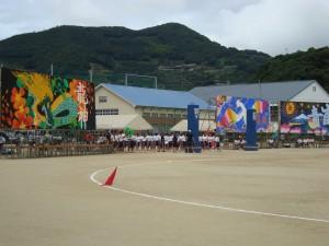 平成24年度三瓶高校体育祭 開催(3)